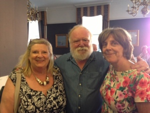 Marita, Frank McGuinness and Mary Finn