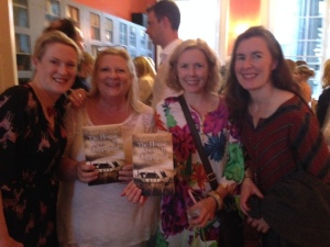 Sarah Webb, Marita, Clare Dowling and Karen Gilleece
