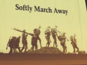Softly March Away - WWI