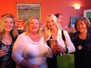 Maebh Ruane, Marita, Claudia Carroll and June Considine