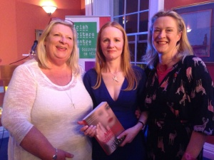 Marita, Martina Devlin and Sarah Webb