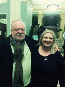 Frank McGuinness and Marita v2