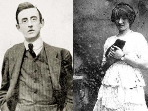 Joseph Plunkett and Grace Gifford