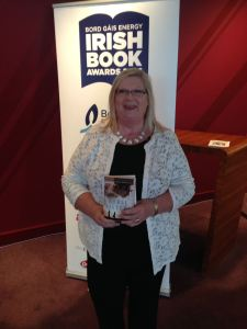 Marita at launch of Irish Book awards 2016