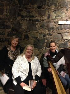 Marita in Nenagh Castle with Margaret Kennedy and Laura O'Sullivan