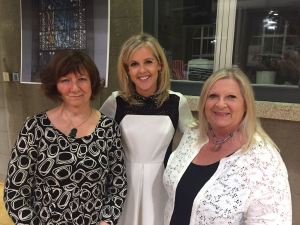 Marita with Lia Mills and Sinead Moriarty