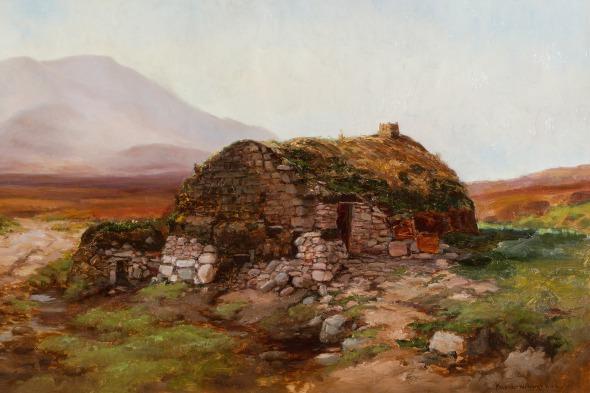 """""""Cottage: Achill Island"""""""